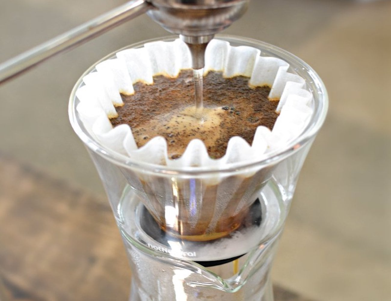 notNeutral GINO Glass Coffee Dripper