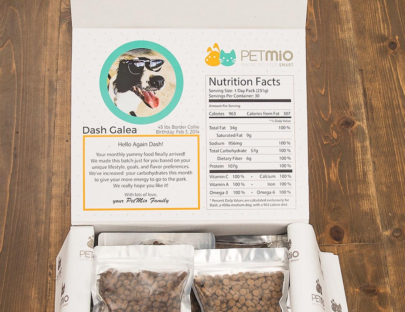 PetMio Smart Personalized Pet Food