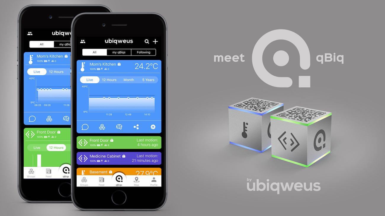 qBiq IoT Smart Wi-Fi Sensor