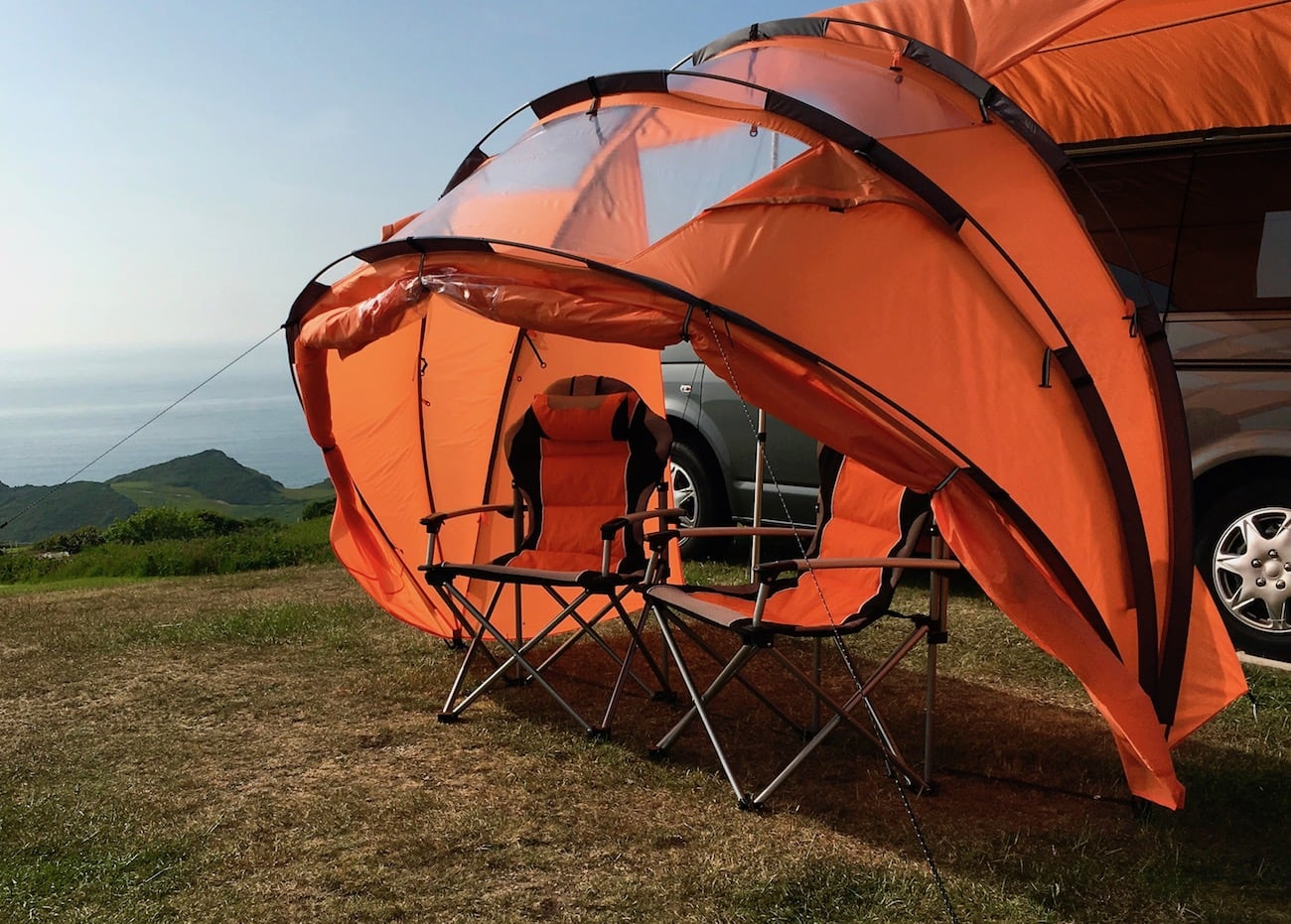 sheltaPod Reinvented Campervan Awning