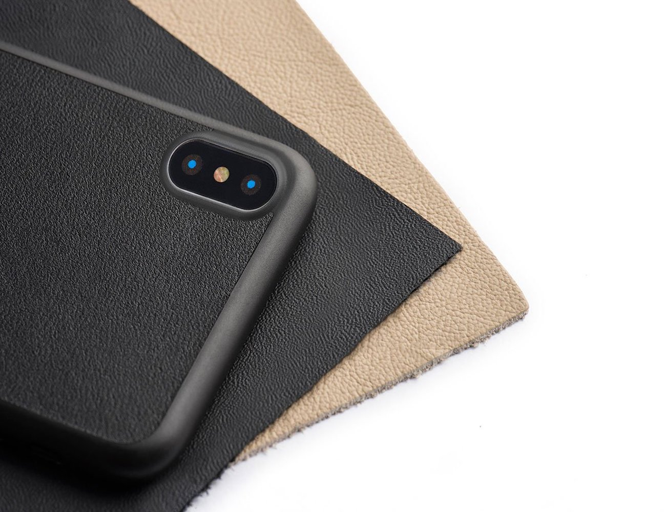 Totallee Thin Leather iPhone X Case