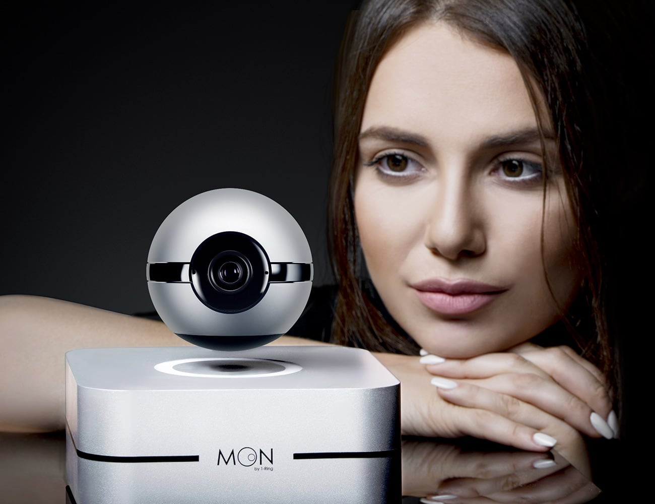 1-Ring Moon Levitating Smart Camera