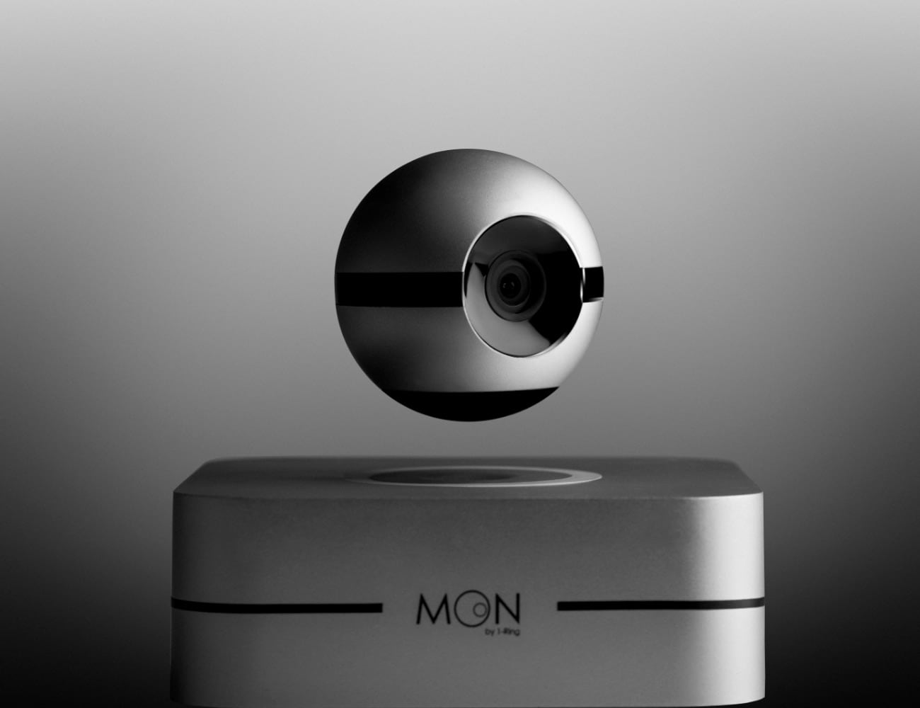 1-Ring Moon Levitating Smart Camera