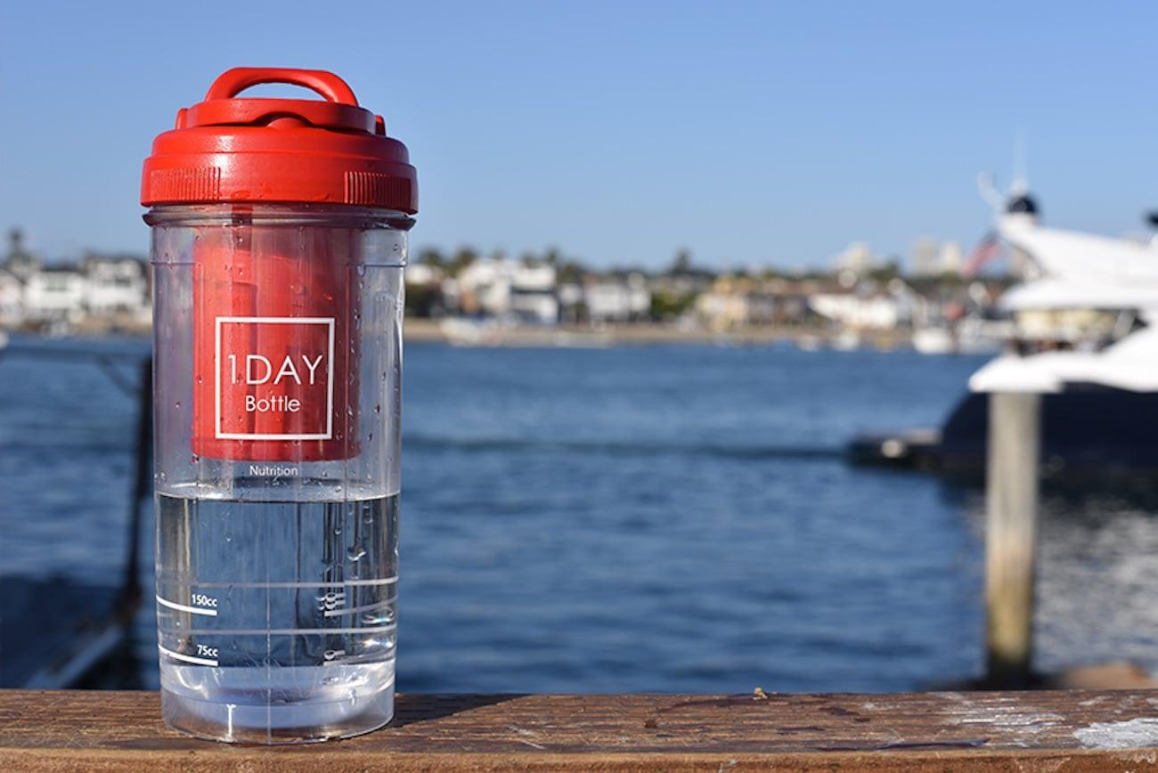 1Day Dispenser Shaker Bottle
