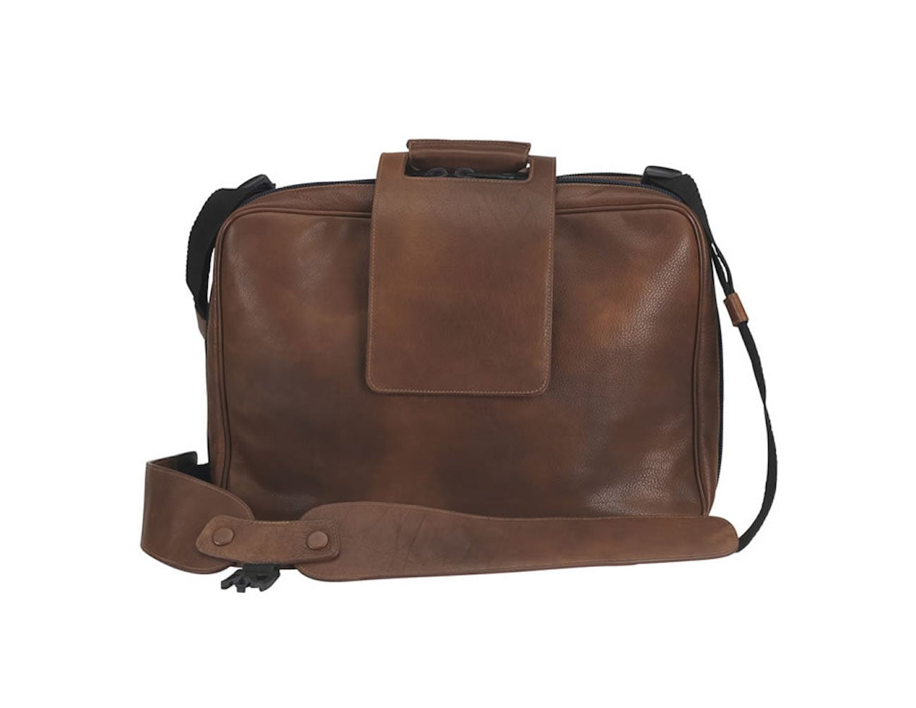 24two Convertible Leather Backpack