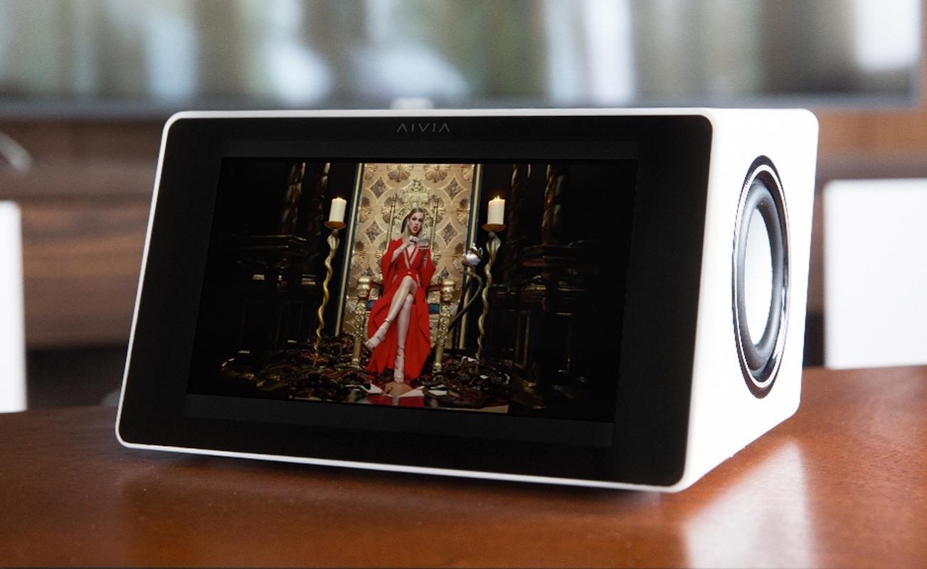 Aivia Voice-Activated Smart Speaker