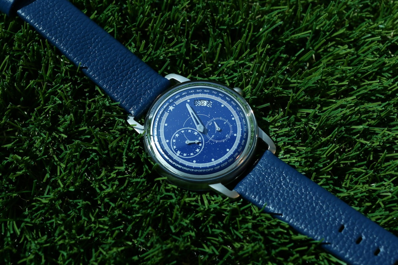 Apollo Space-Inspired Regulator Watches