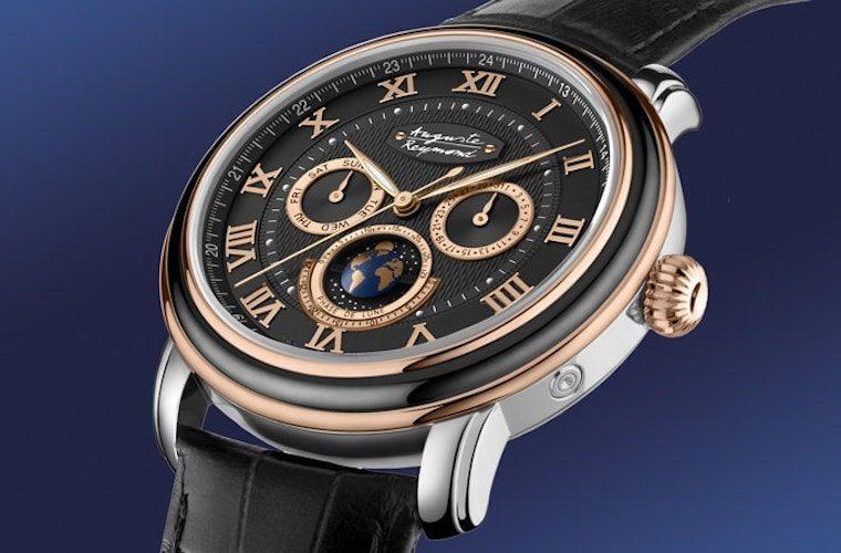 Auguste Reymond Orbital Moon Swiss Watch