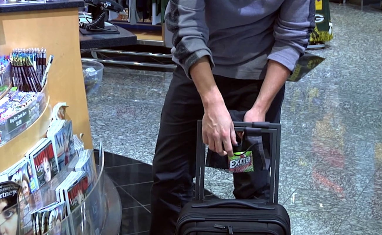Axial Multi-Functional Carry-On Luggage