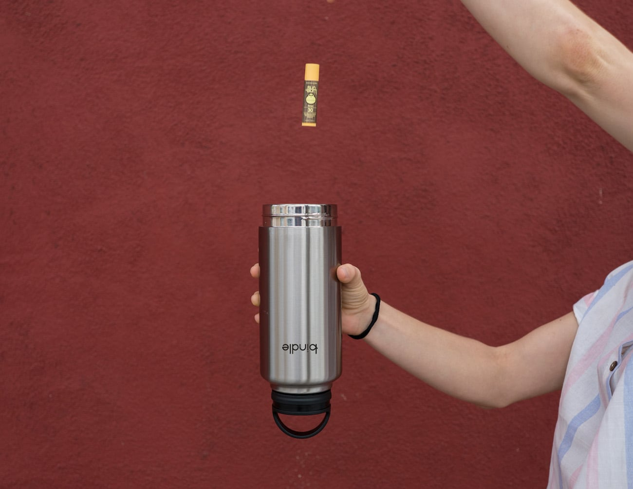 Bindle Insulated Secure Storage Water Bottle