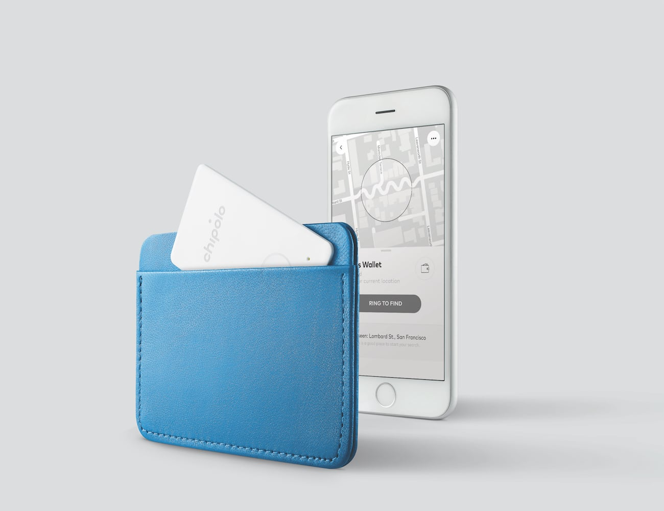 Chipolo Card Thin Wallet Tracker