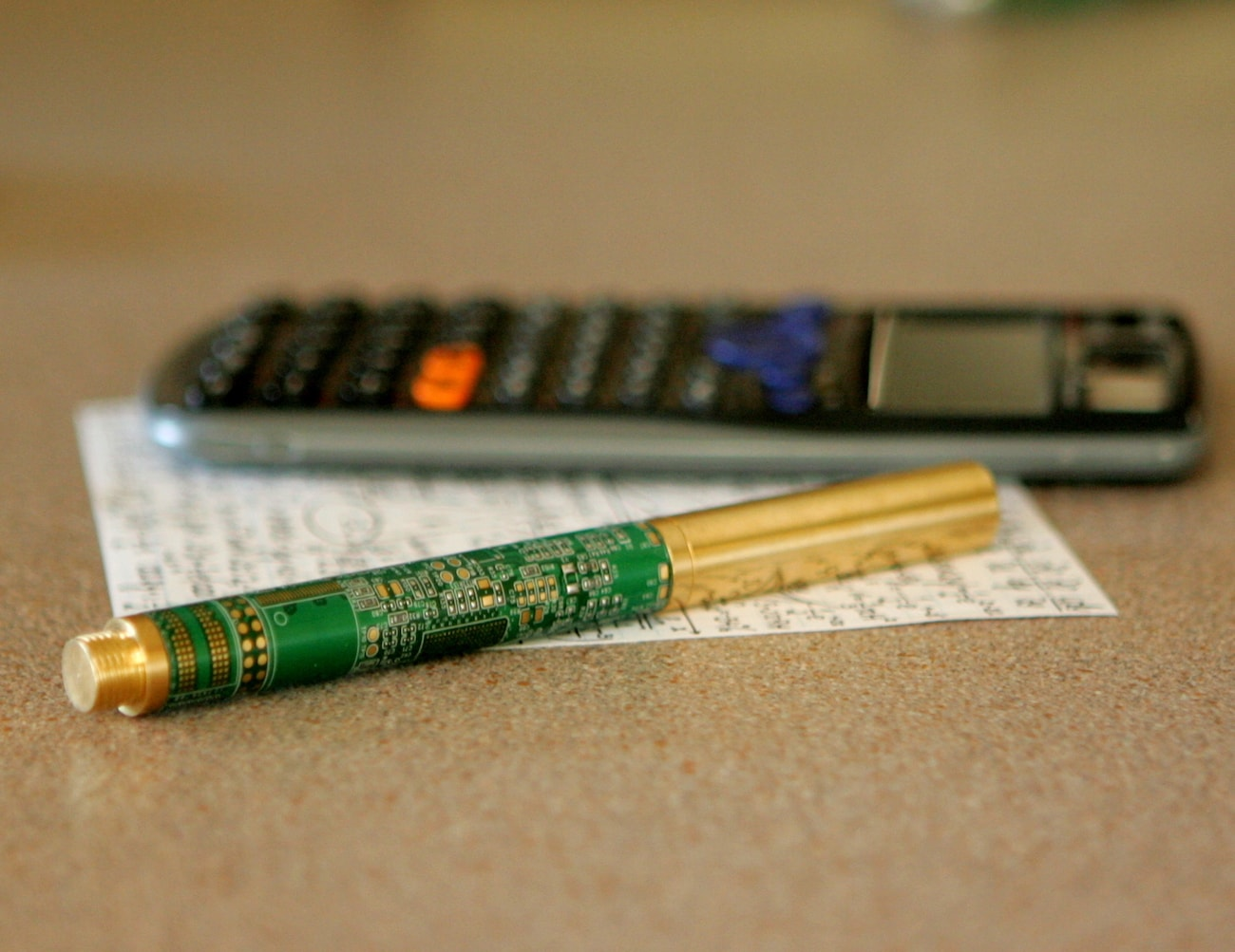 Circuit Board Minimalist Writing Pen