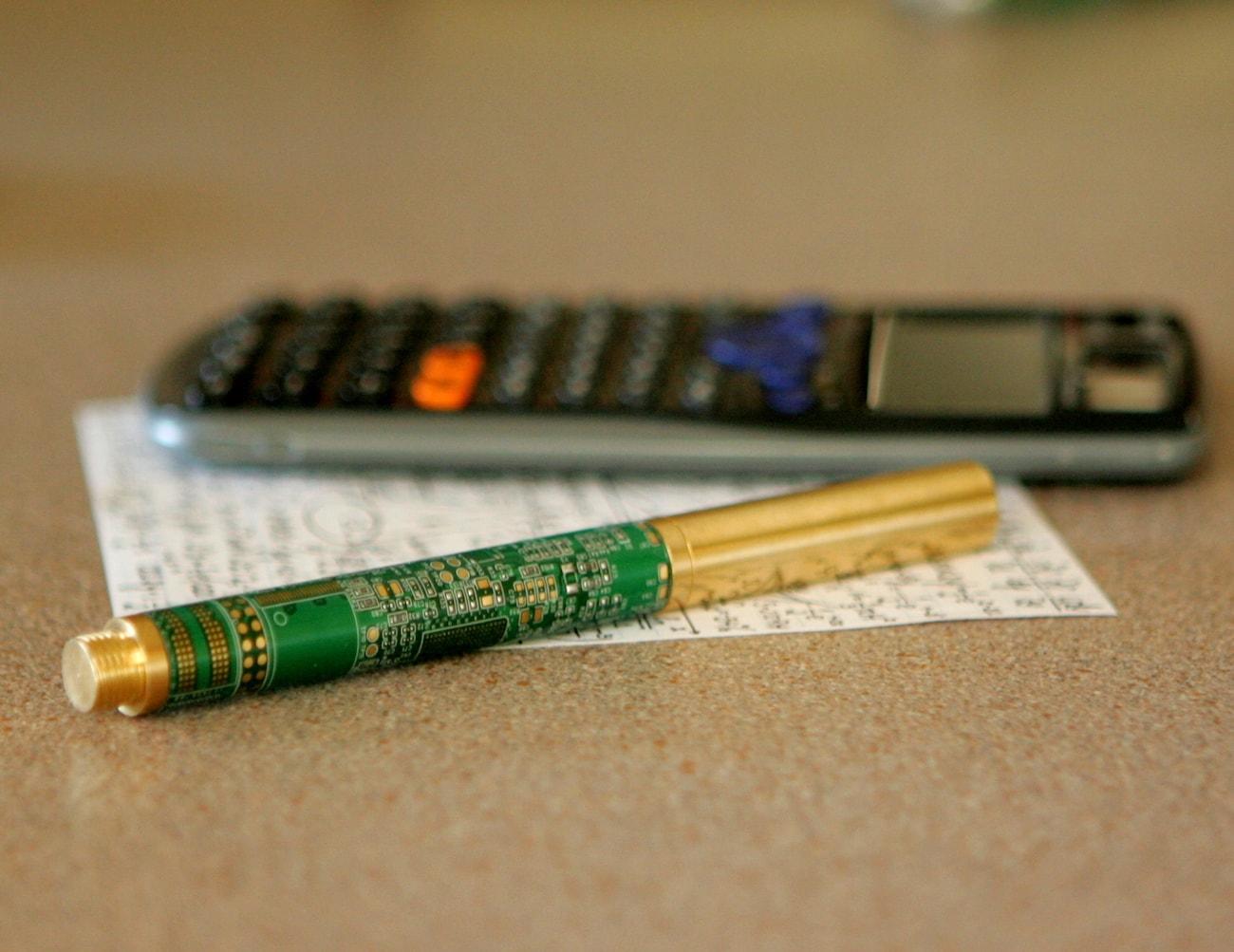 Circuit Board Minimalist Writing Pen