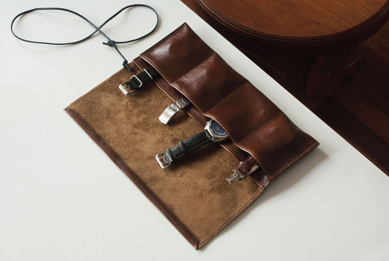 Convoy Leather Watch Roll