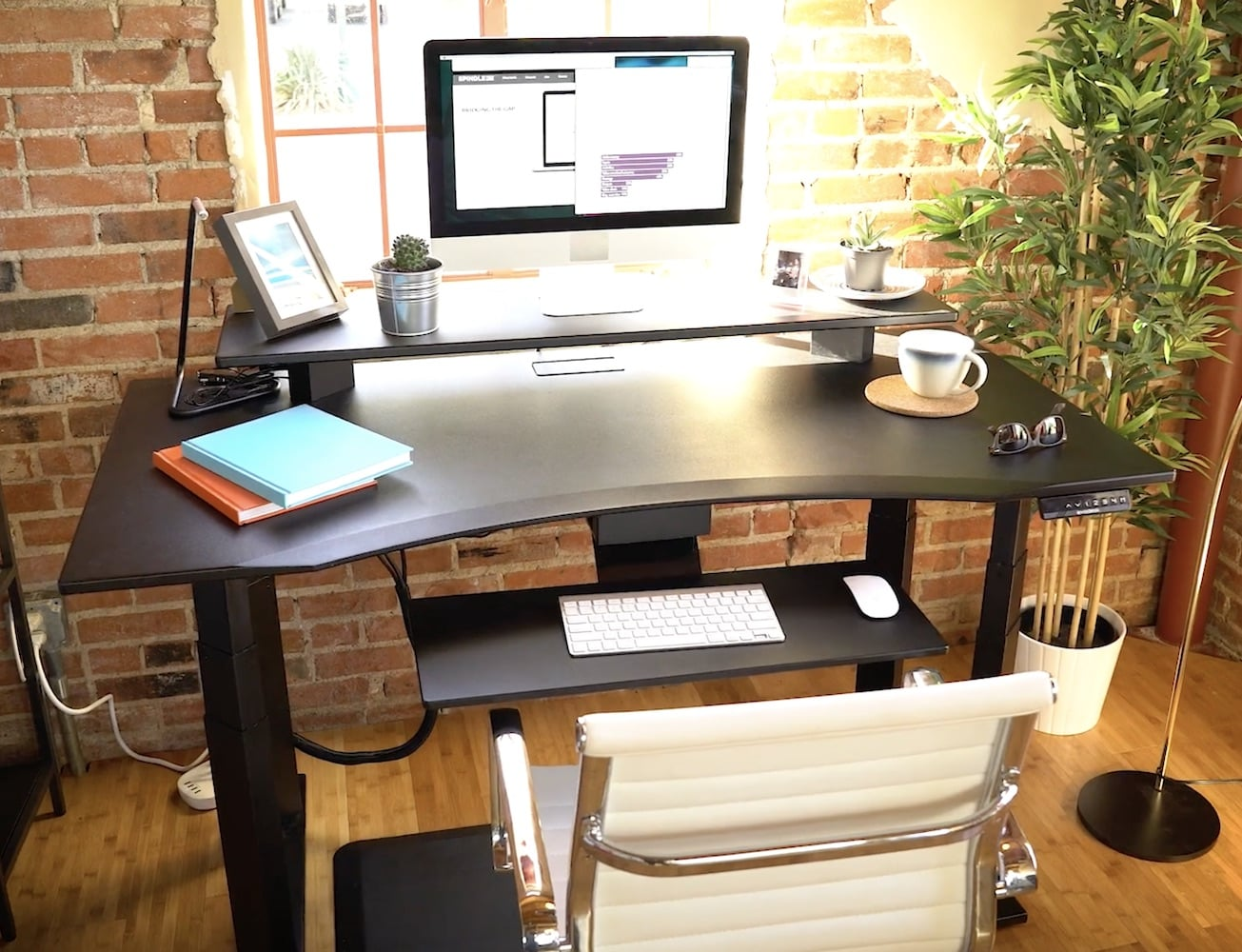 EvoDesk Electronic Height Adjustable Desk