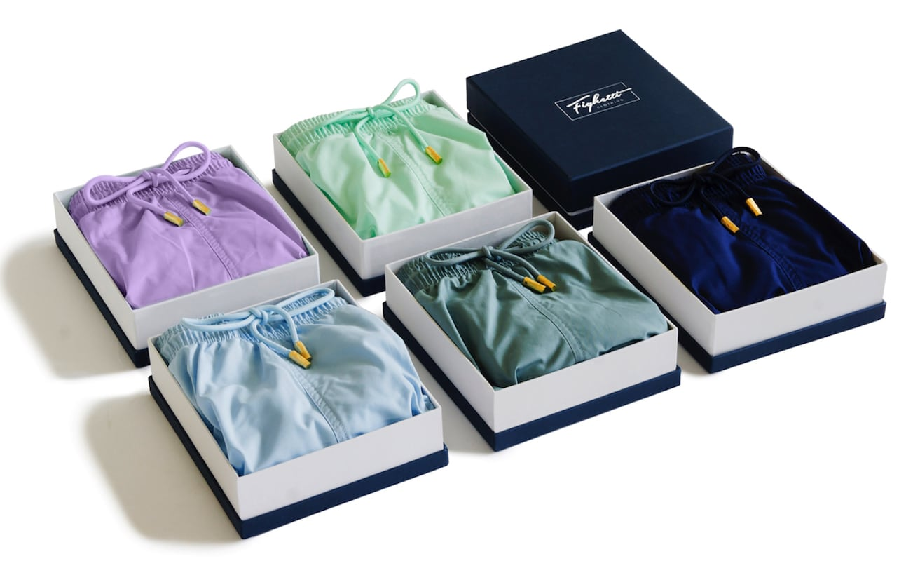Fighetti Fashionable Recycled Swim Shorts