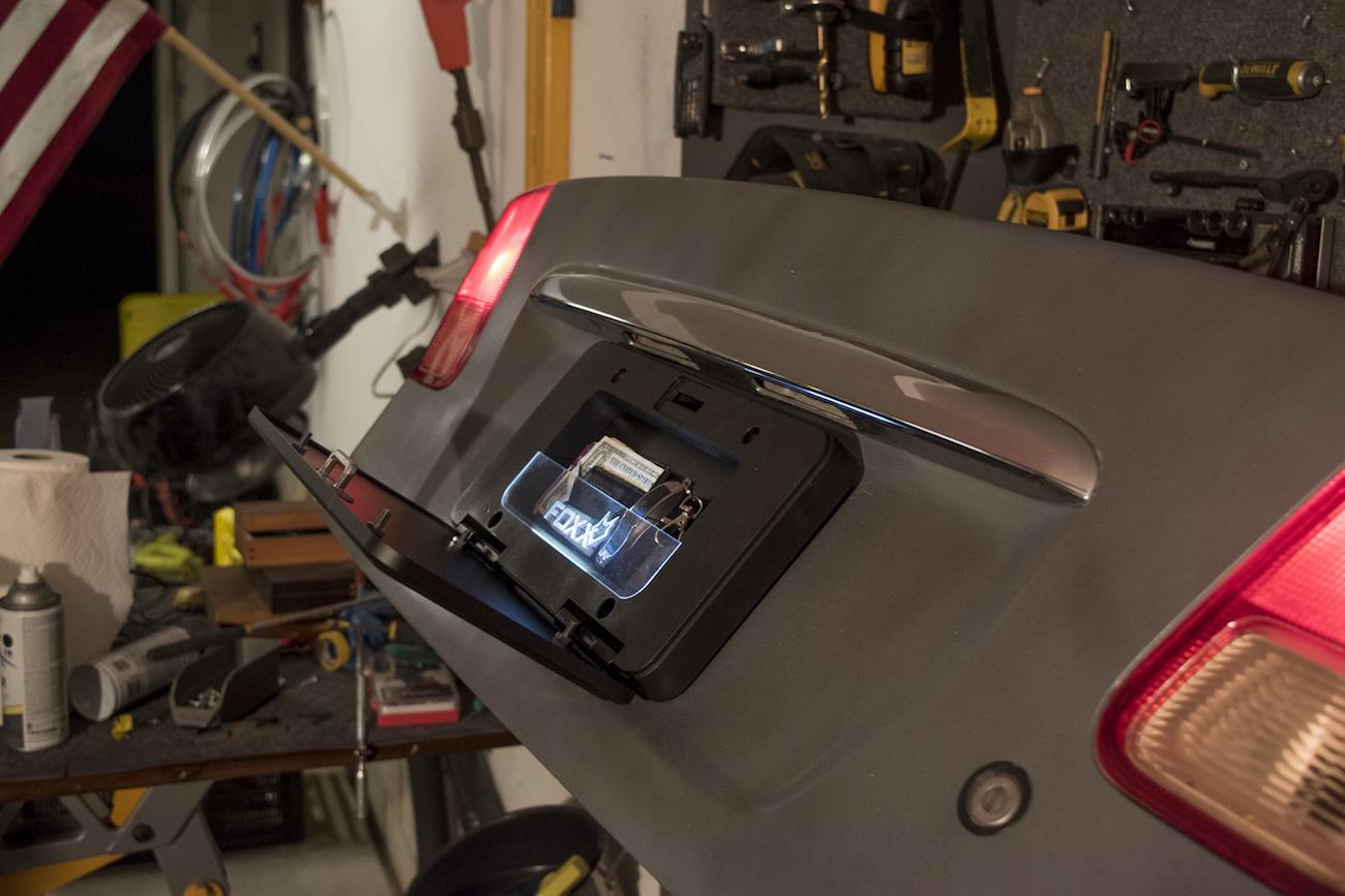 FoxxVault Smart License Plate Vault