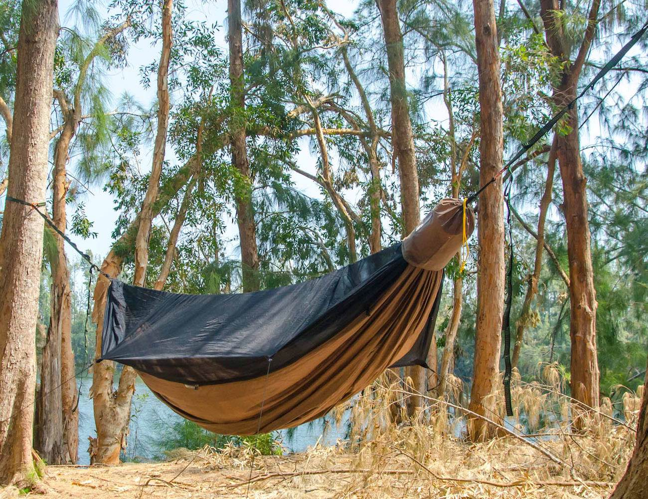 Tent Hammock For Two : Go camping hammock