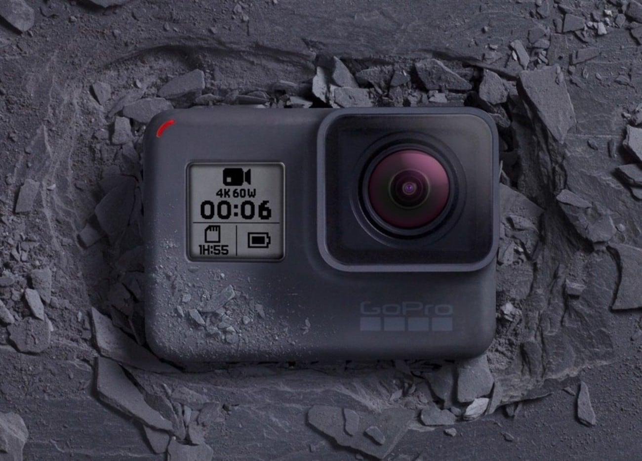 GoPro Hero6 Black Voice Control Action Camera