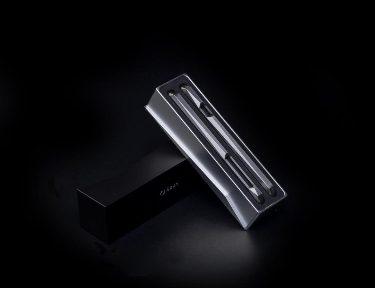 Gray Advent Titanium iPhone X Case