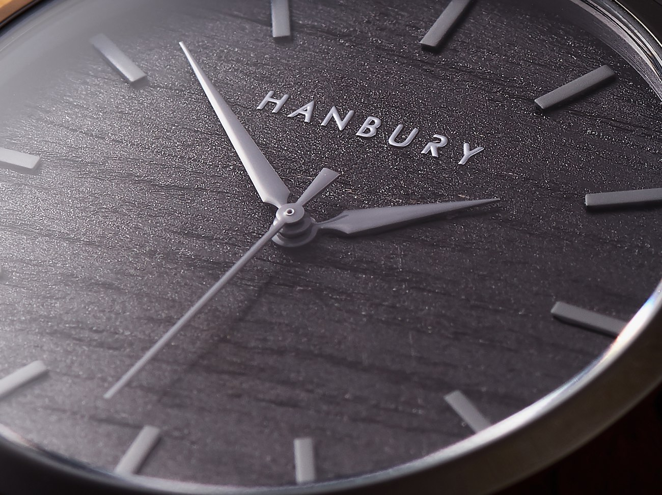HANBURY Real Wood & Stainless Steel Luxury Watches
