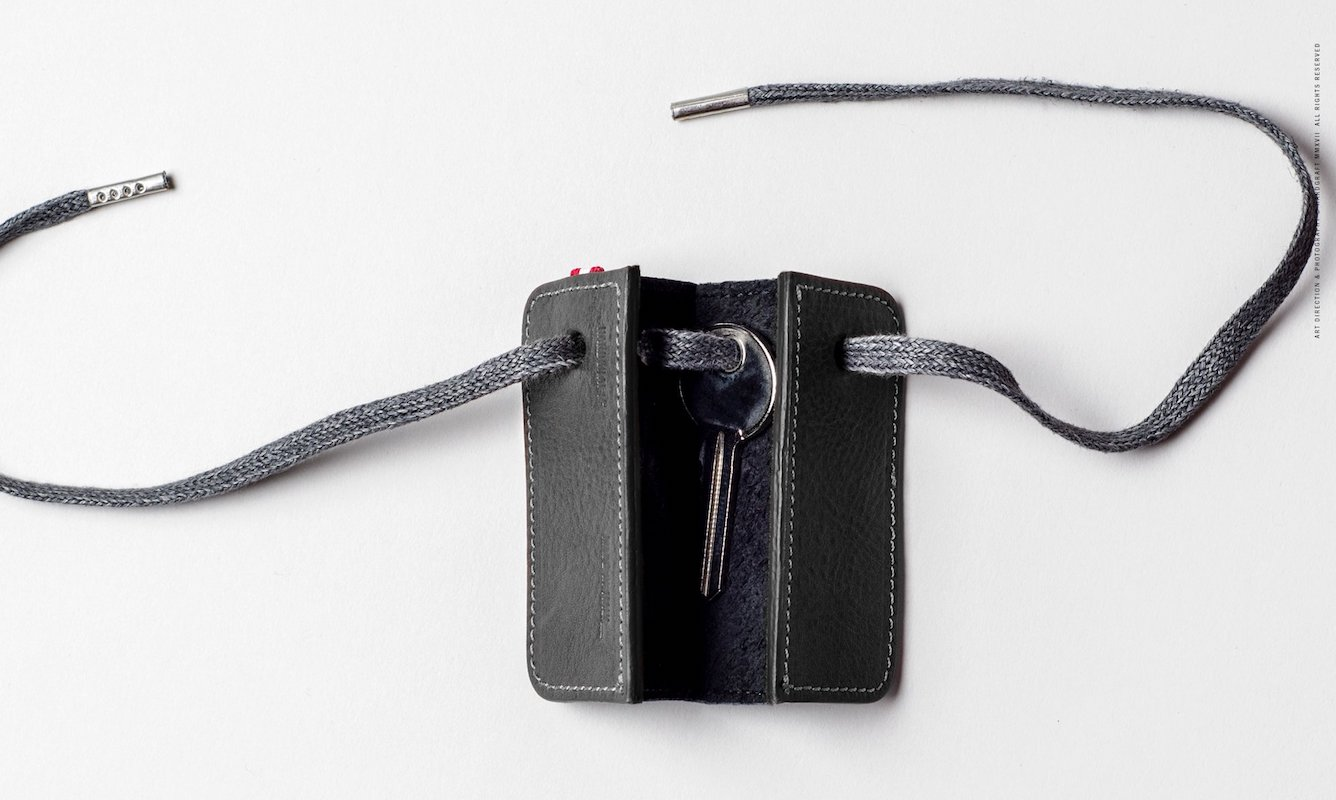 Hard Graft 3Key Separe Leather Key Fob