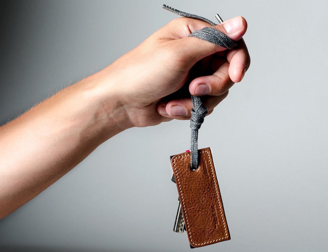 Hard Graft 3Key Separe Leather Key Fob