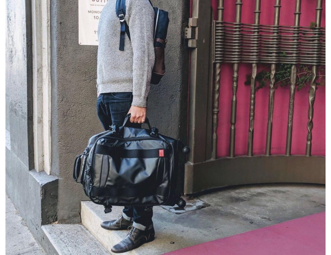 Hideo Wakamatsu Veil Carry-On Luggage