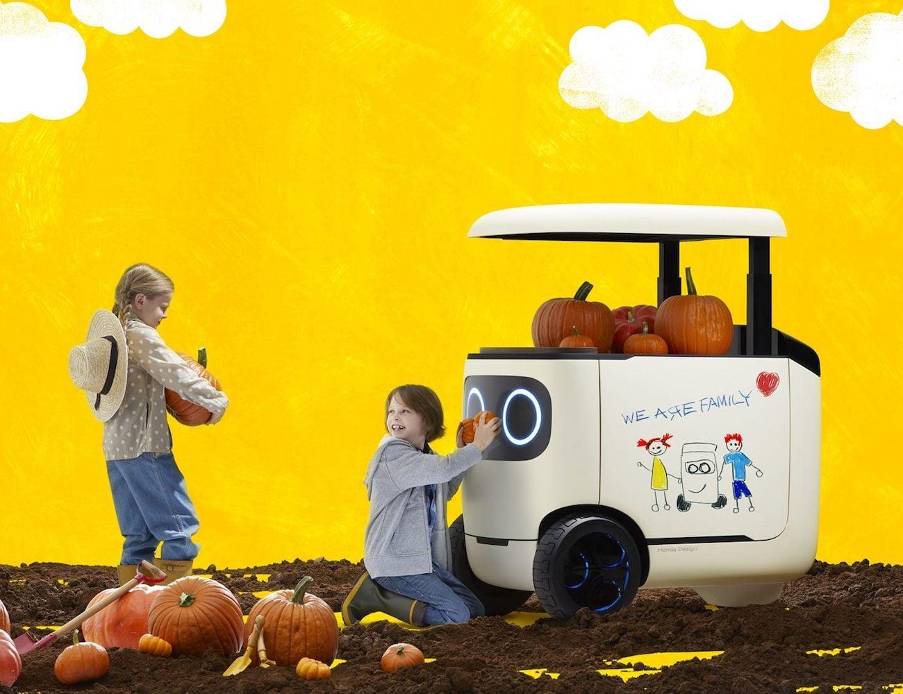 Honda RoboCas Electric Mobility Concept
