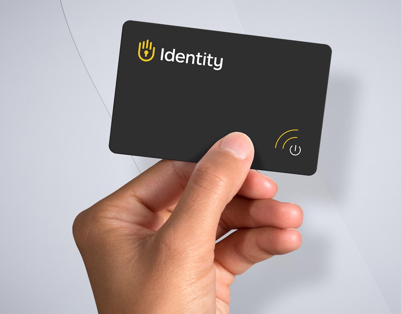 Identity Vault Digital Password Card