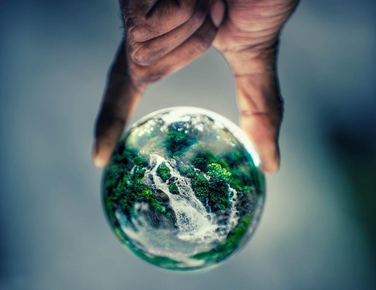 Lensball Spherical Crystal Lens Gadget Flow