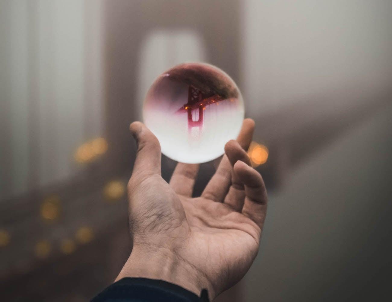 Lensball Spherical Crystal Lens