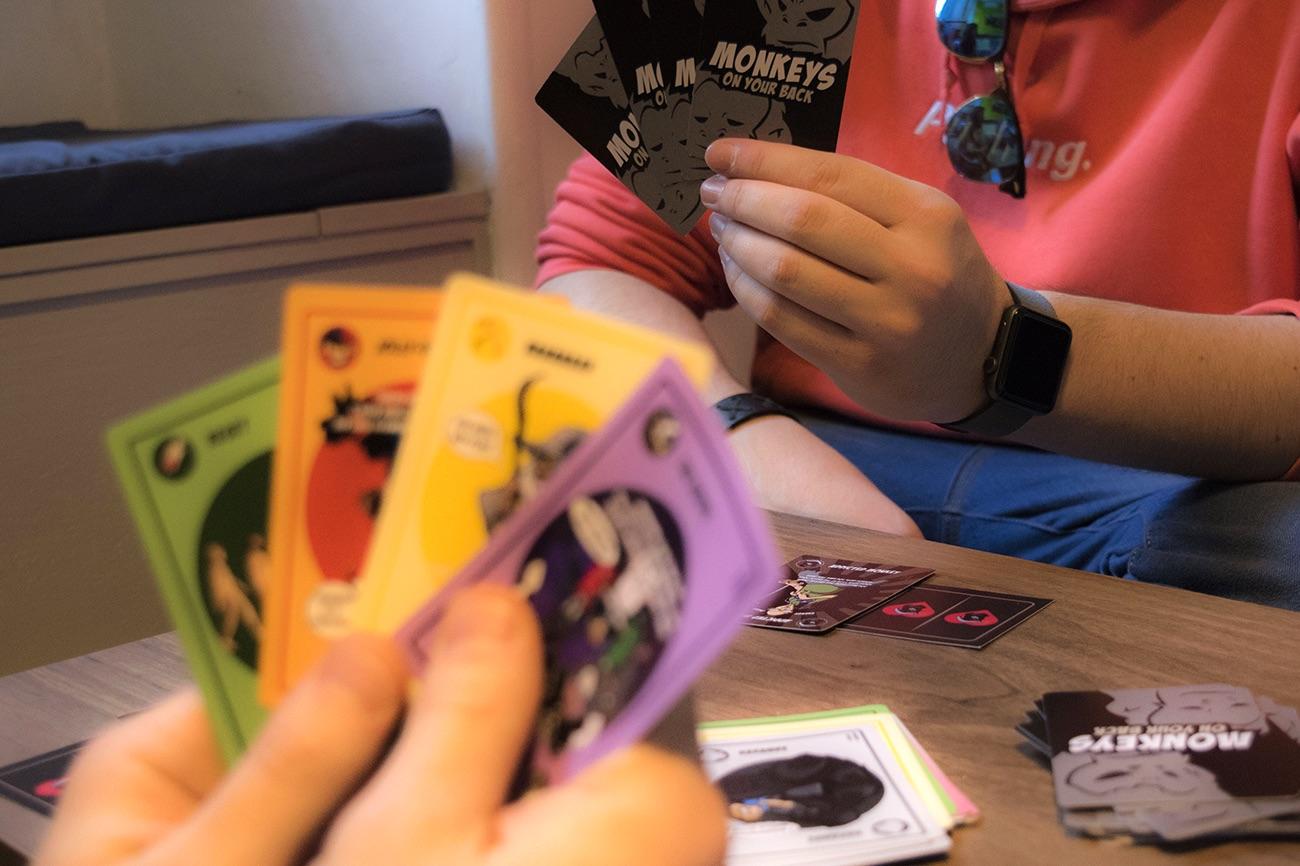 Monkeys On Your Back Card Game