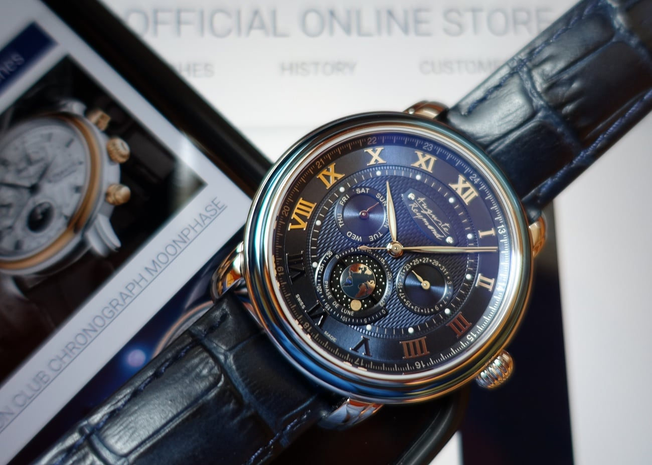 Auguste Reymond Orbital Moon Swiss Watch