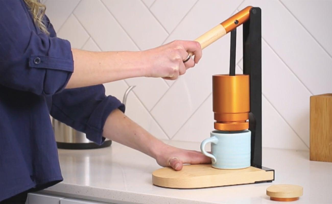Newton Lever-Press Espresso Maker