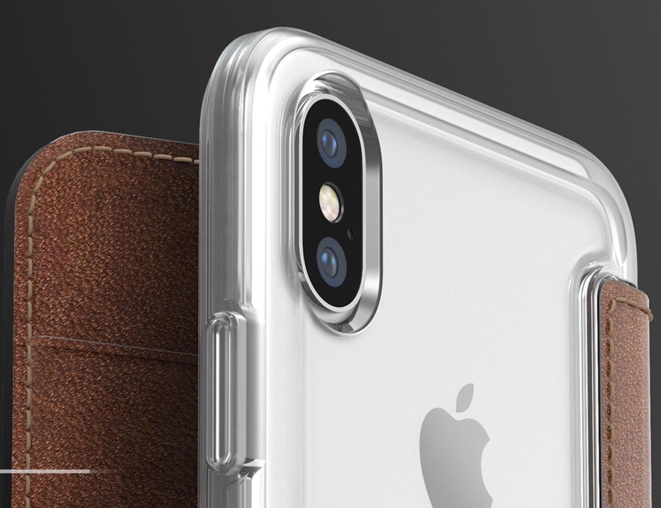 buy popular aaaa8 bafe5 Nomad Clear Folio iPhone X Case
