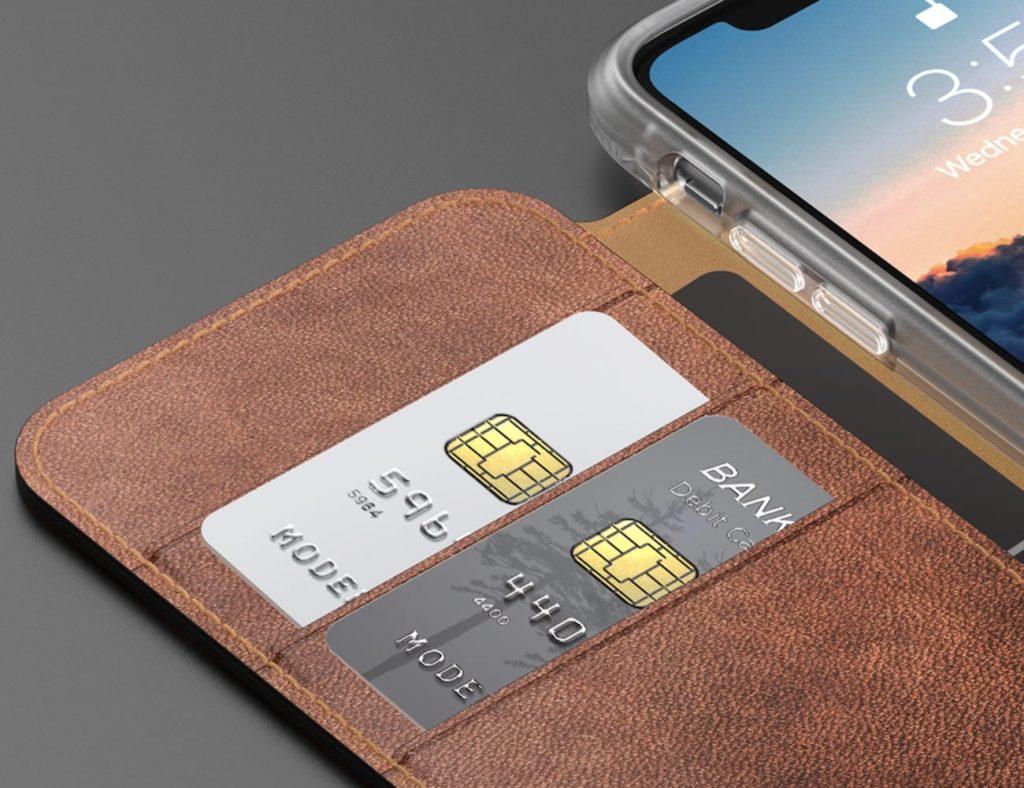 Nomad+Clear+Folio+iPhone+X+Case