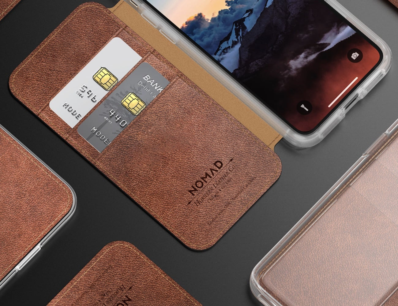 Nomad Clear Folio iPhone X Case