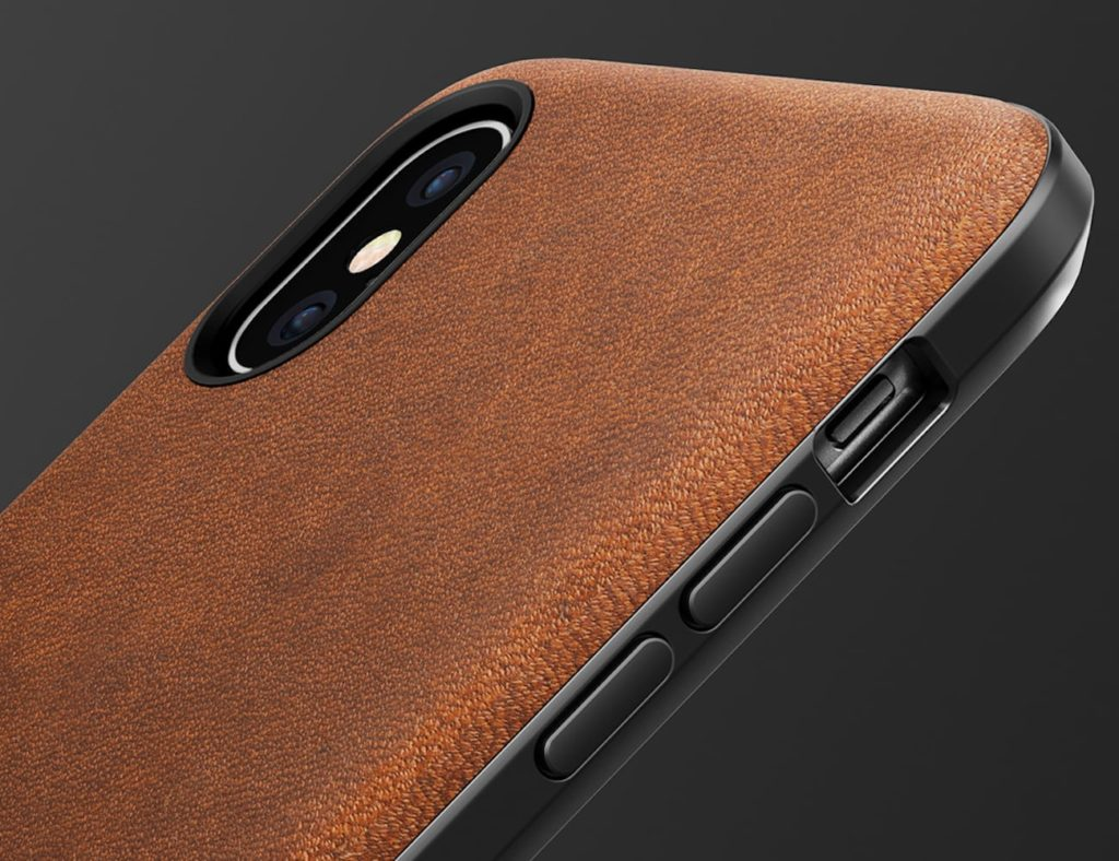 Nomad+Rugged+Leather+iPhone+X+Case