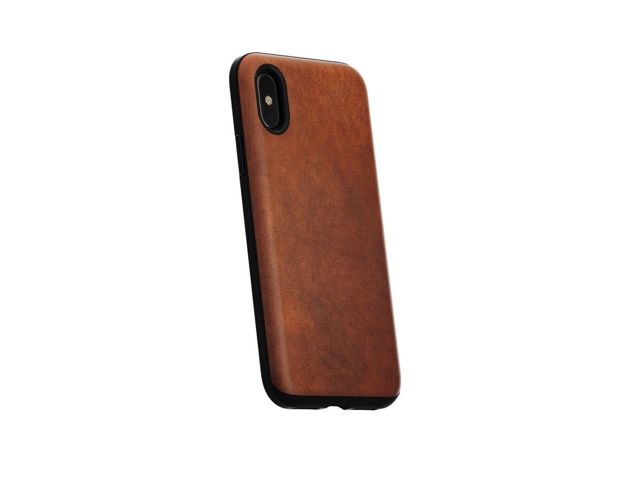 Nomad Rugged Leather iPhone X Case