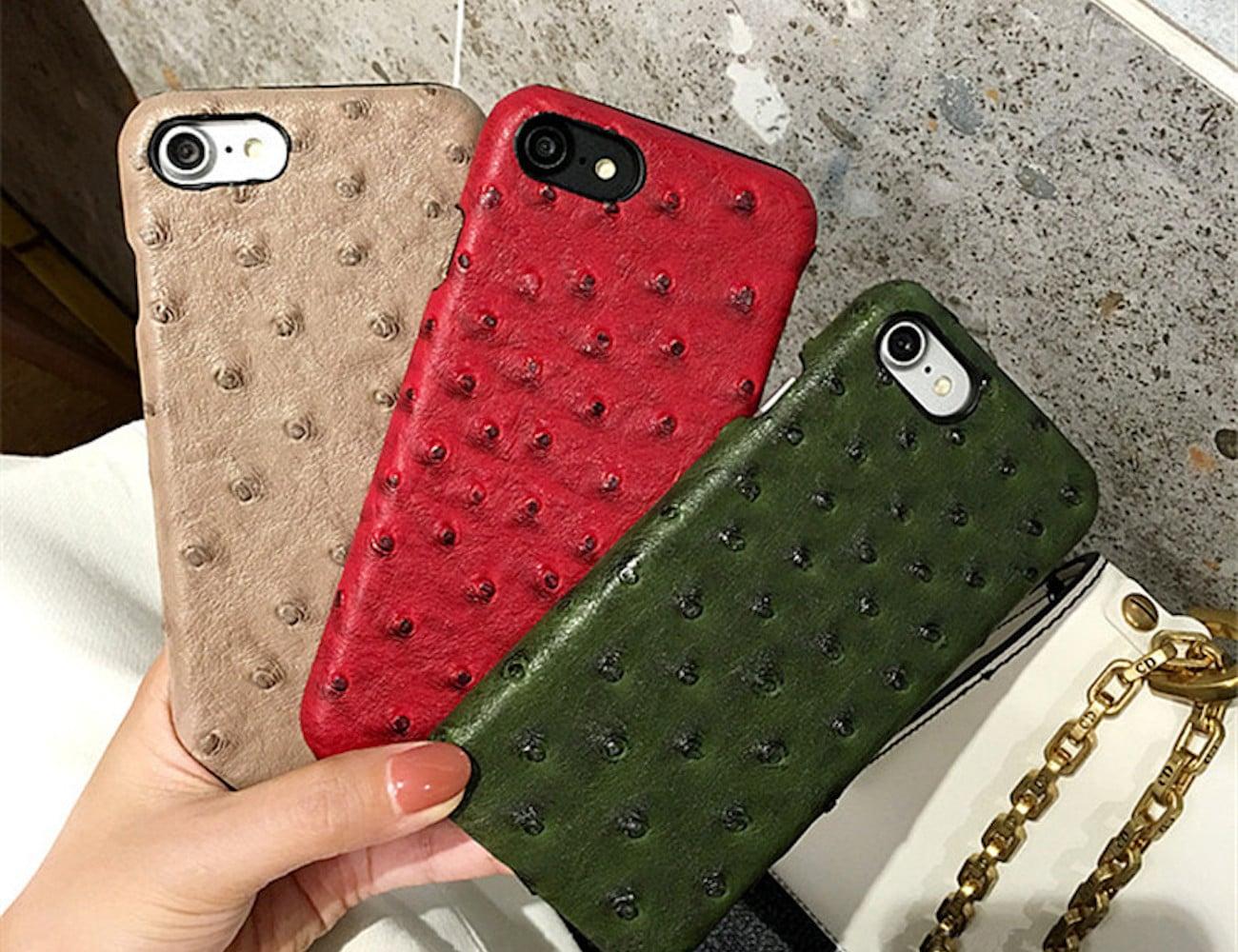 Ostrich Skin iPhone 8 Case