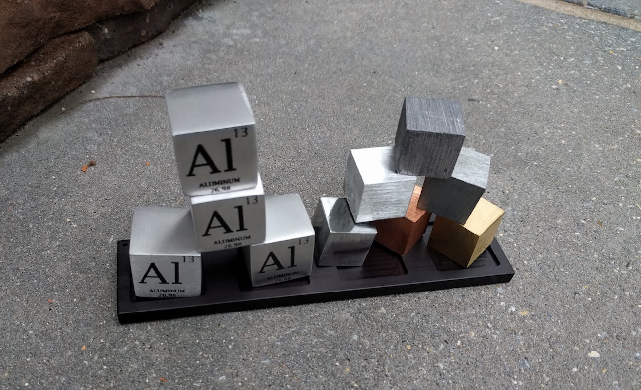 PT Cubes Periodic Table Metal Elements