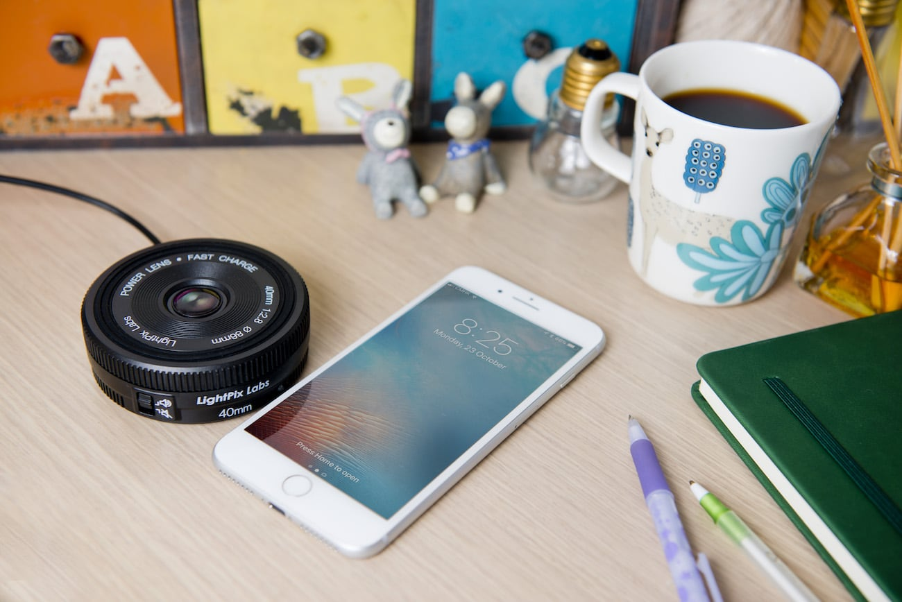 Power Lens Fast Wireless Charger