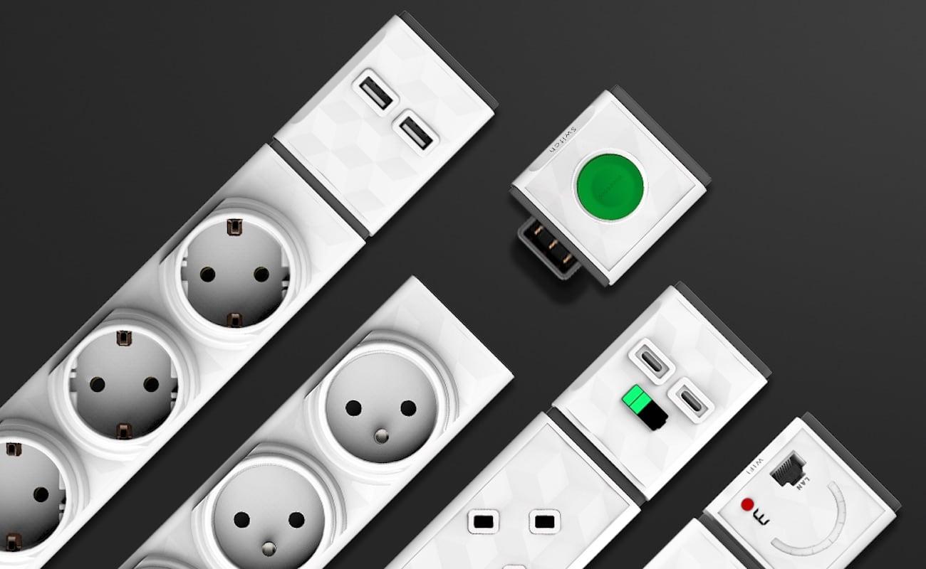 PowerStrip Modular Customizable Extension Board