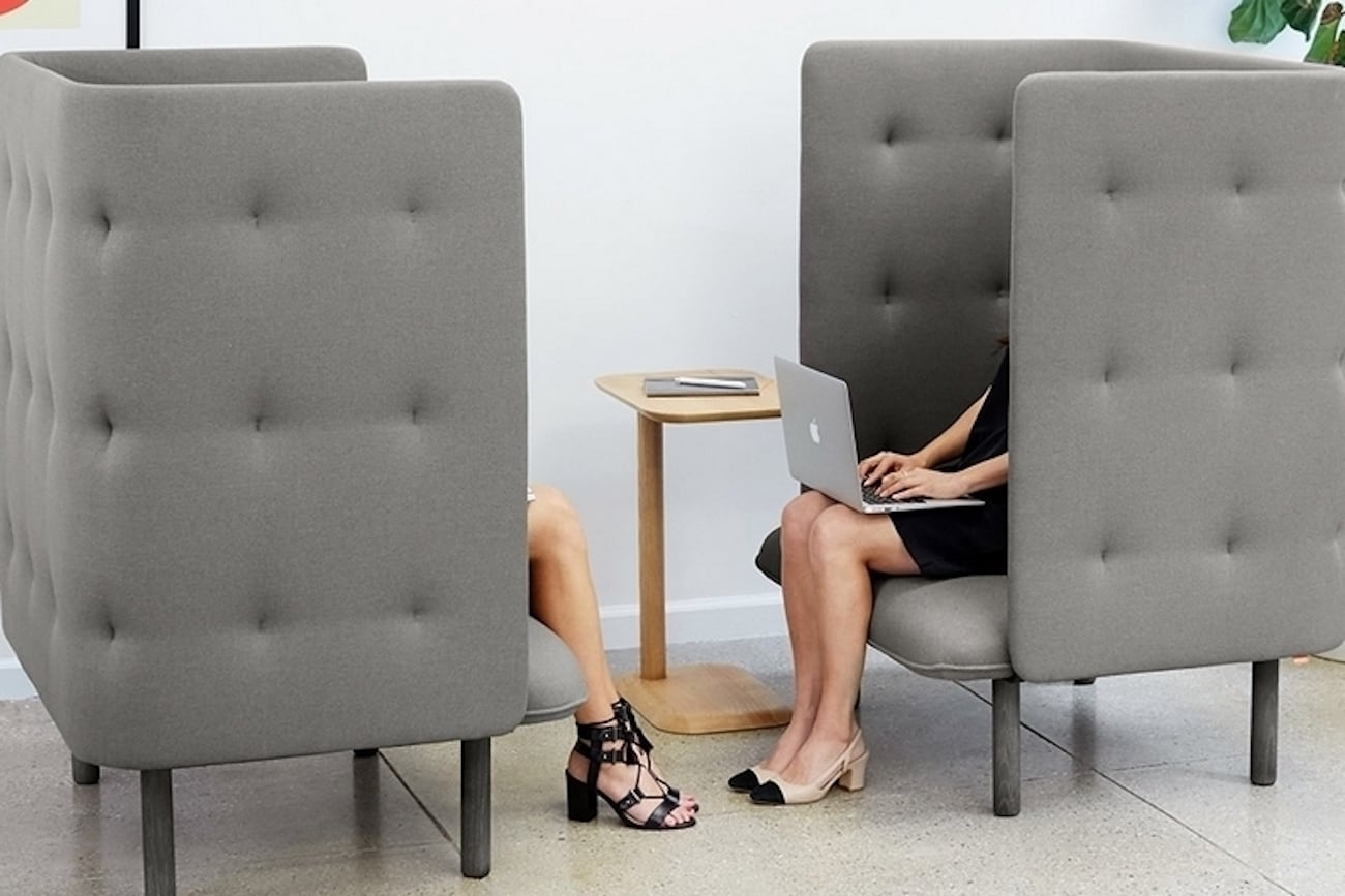 Quiet Time Privacy Lounge Chair