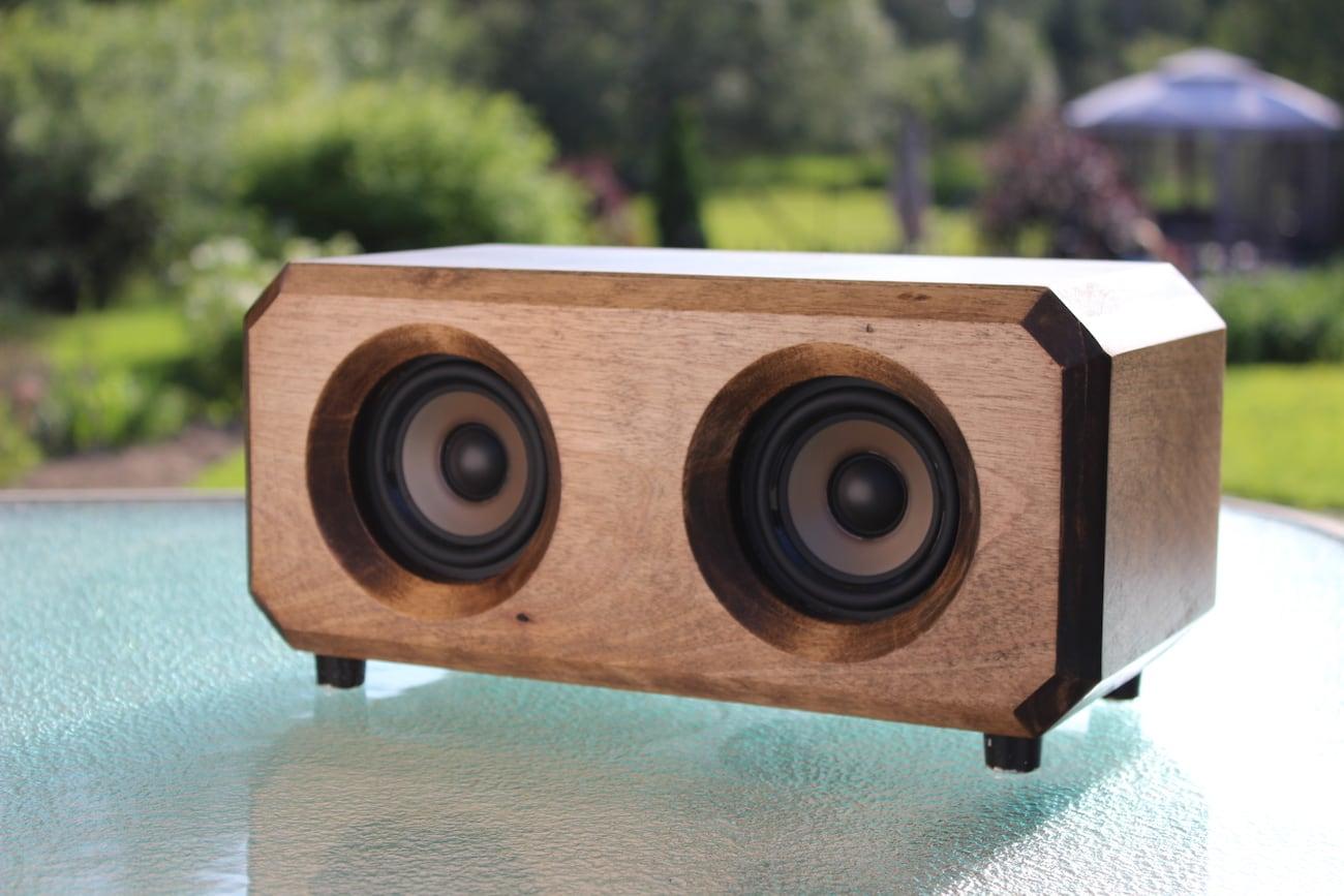 Riverwood Acoustics Wooden Bluetooth Speaker