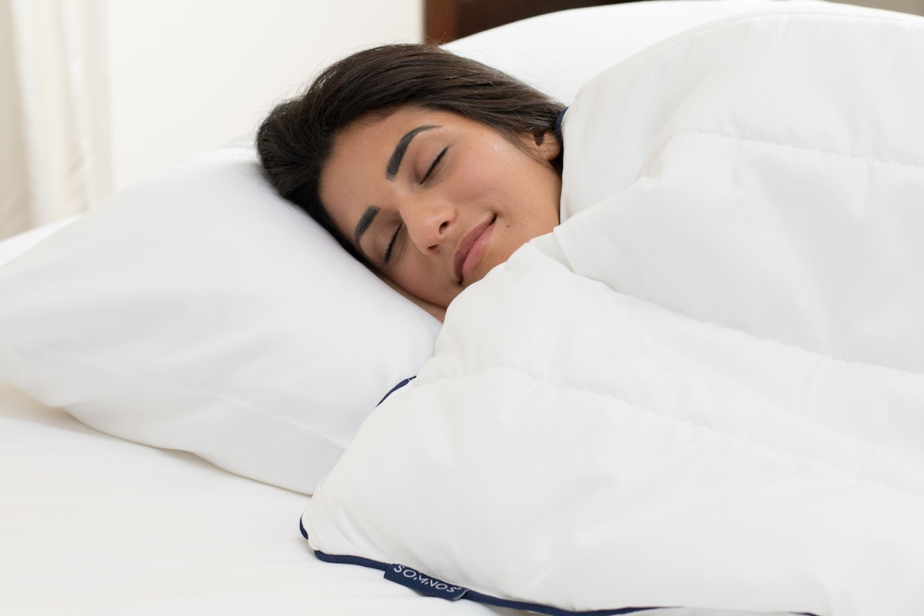 SOMNOS Therapeutic Weighted Comforter