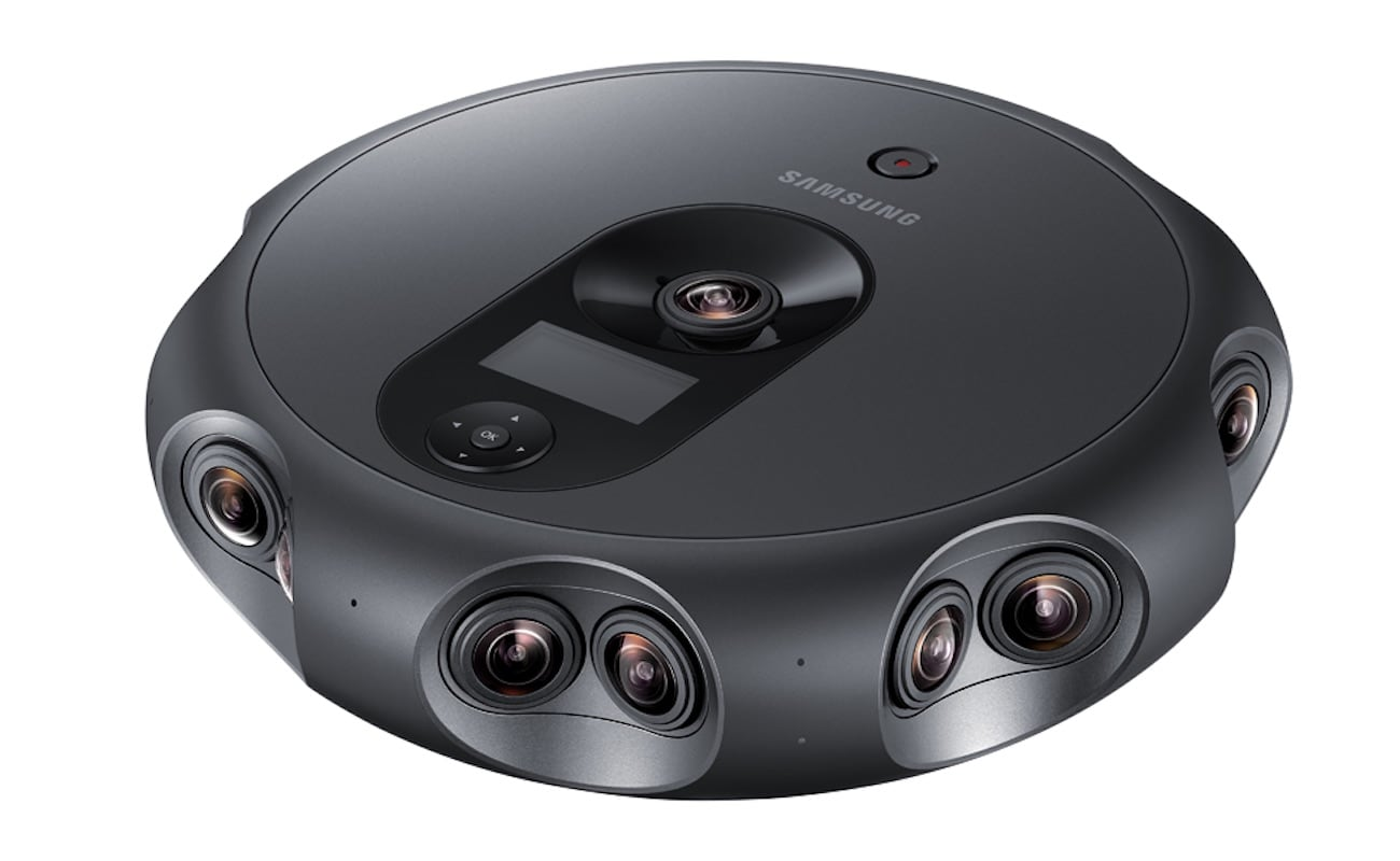 This Device Has 17 Lenses for Seamless VR Footage