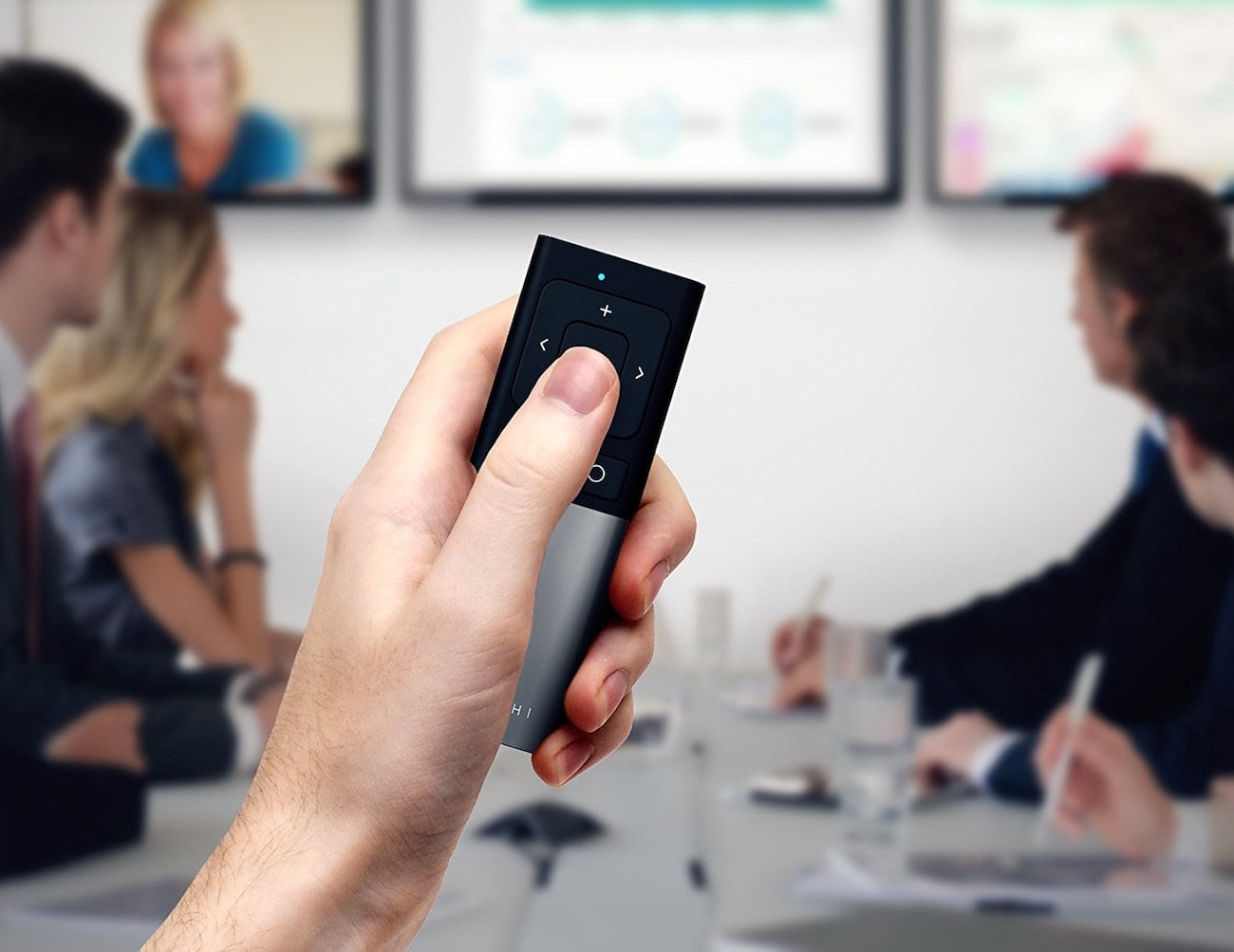Satechi Aluminum Wireless Multimedia Remote Control works with every Bluetooth device you own