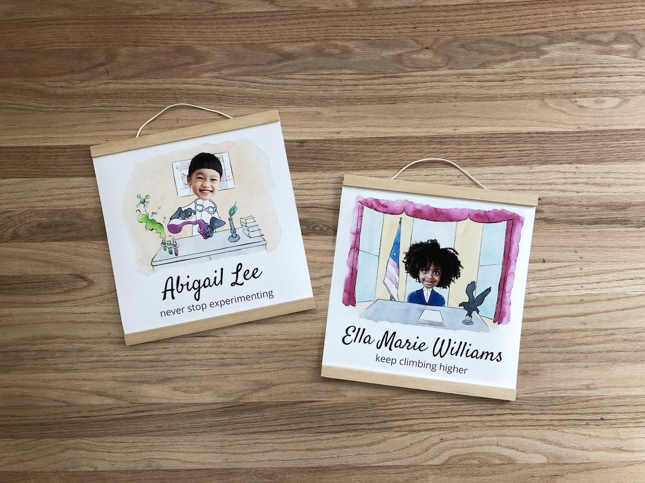 Seeing is Believing Personalized Picture Storybook